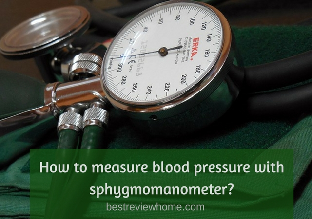 how to use sphygmomanometer